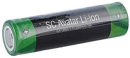 SC 18650er Akku 2000 mAh - 3,7 V