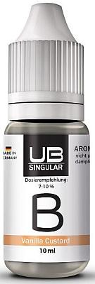Ultrabio Singular - Aroma B Vanilla Custard 10ml Flasche