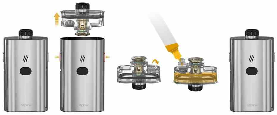 Aspire Cloudflask E-Zigaretten Set