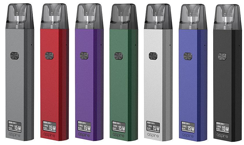 Aspire Favostix E-Zigaretten Set alle Farben