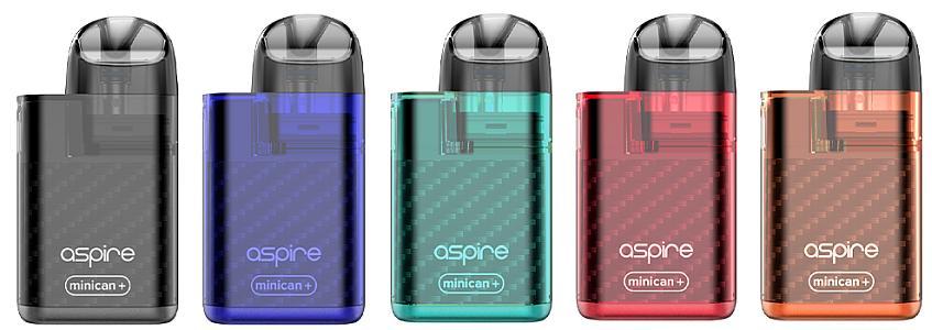 Aspire Minican Plus E-Zigaretten Set alle Farben
