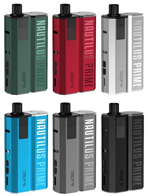 Aspire Nautilus Prime E-Zigaretten Set alle Farben