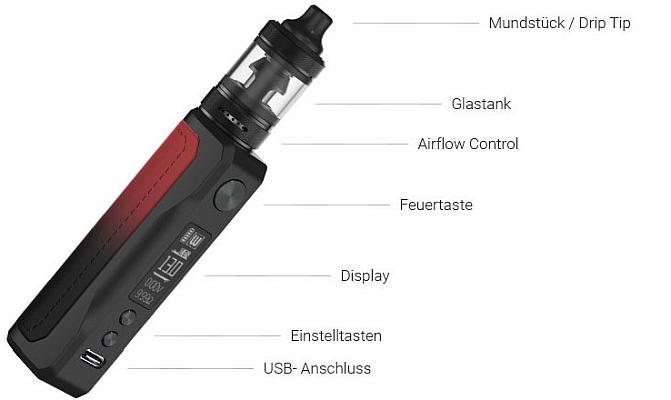 Aspire Onixx E-Zigaretten Set im Detail