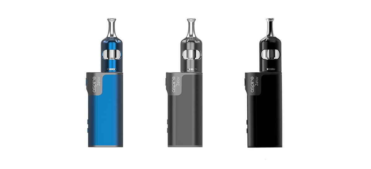 Aspire Zelos 2.0 E-Zigaretten Set blau grau schwarz