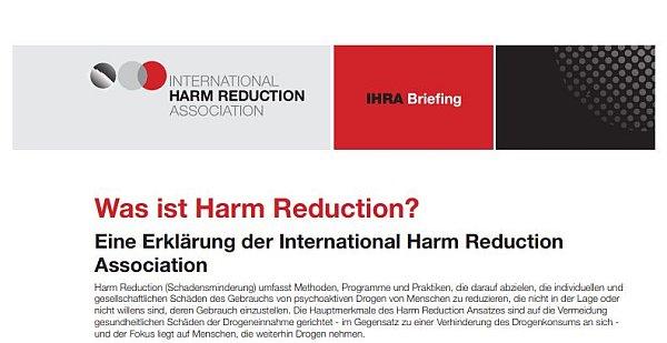 Harm Reduktion
