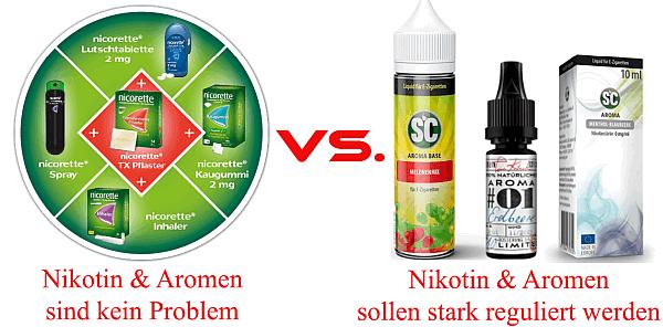 Nicorette vs Liquid