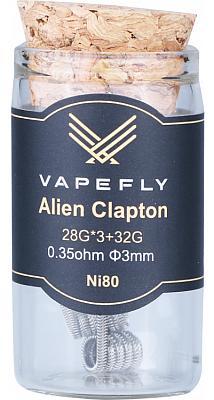 Vapefly Ni80 Alien Clapton Coil