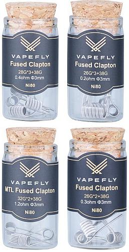 Vapefly Ni80 Fused Clapton Coil