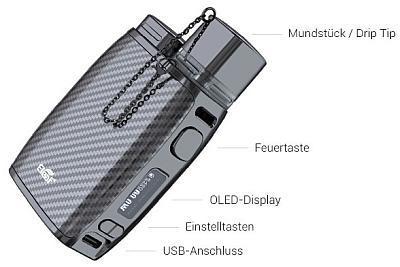 Eleaf Pico Compaq E-Zigaretten Set im Detail