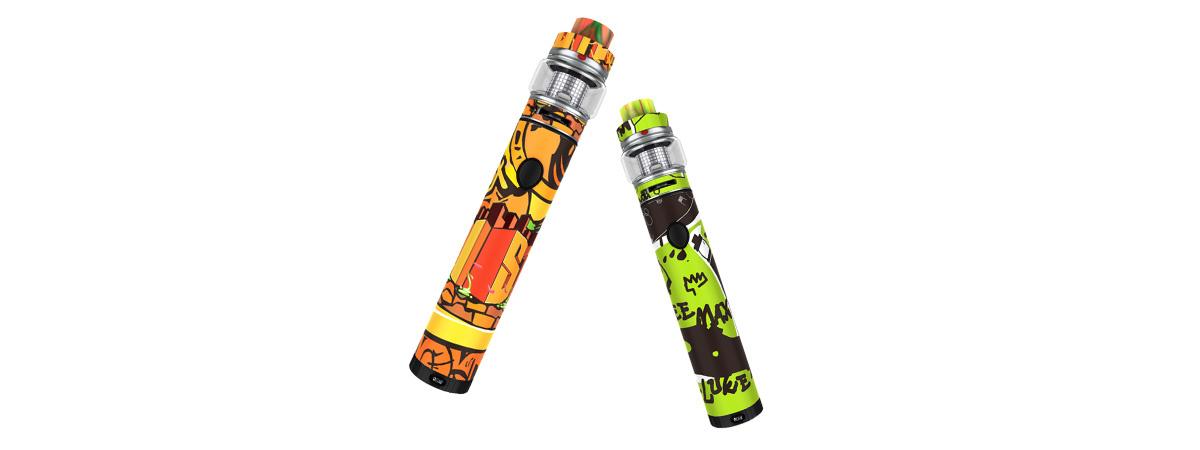 FreeMax Twister mit Fireluke 2 E-Zigaretten Set grün, orange