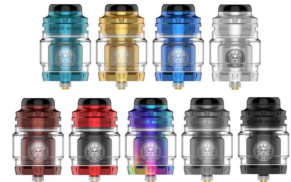GeekVape Zeus X 2 RTA Clearomizer Set alle Farben
