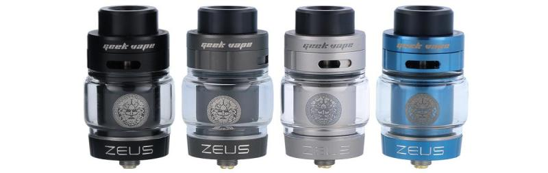 Geekvape Zeus Dual RTA Clearomizer Set alle Farben