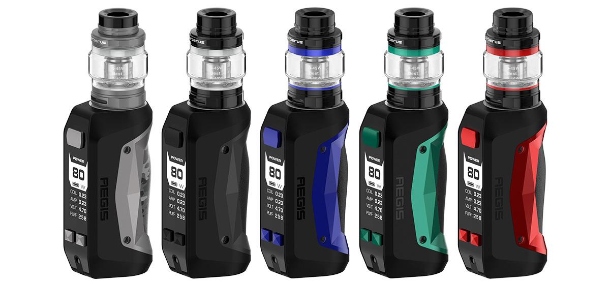 GeekVape Aegis Mini E-Zigaretten Set alle Farben