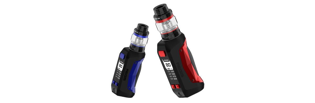 GeekVape Aegis Mini E-Zigaretten Set blau und rot