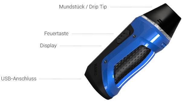 GeekVape Aegis Nano E-Zigaretten Set im Detail