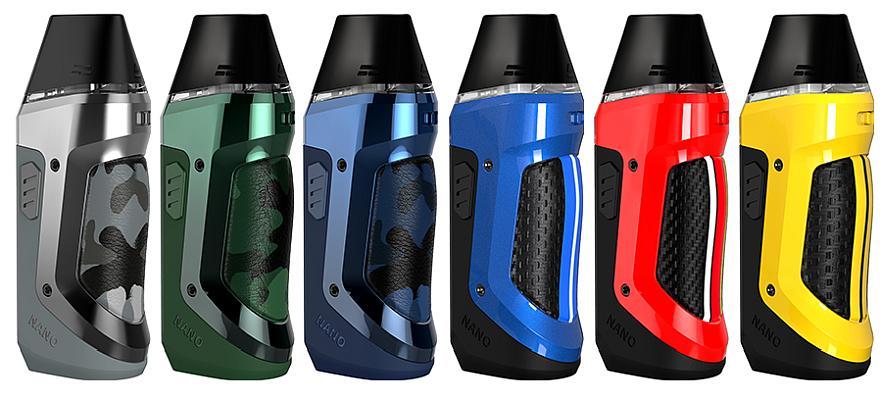 GeekVape Aegis Nano E-Zigaretten Set alle Farben
