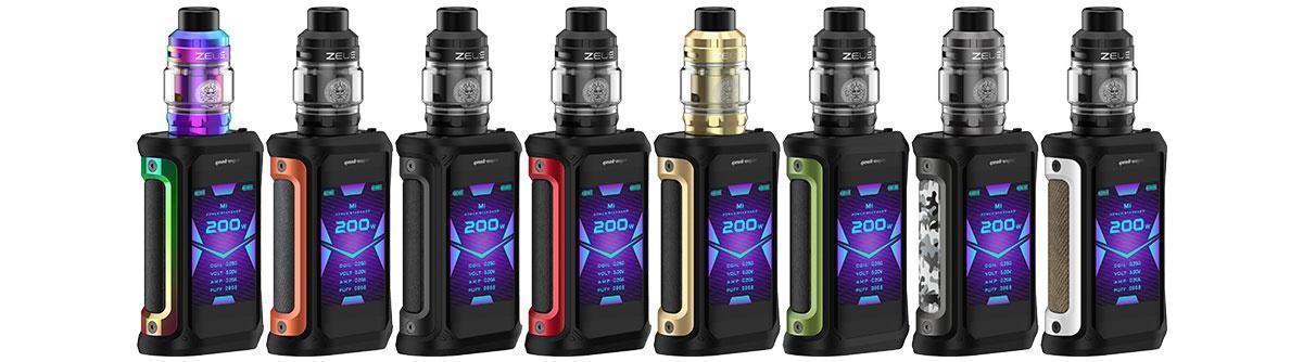 GeekVape Aegis X mit Zeus Subohm E-Zigaretten Set alle Farben
