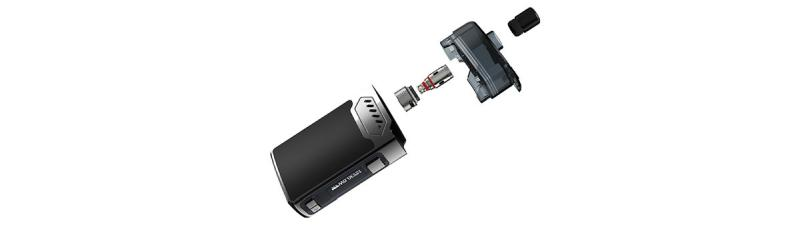 Hellvape Grimm E-Zigaretten Set Einzelteile