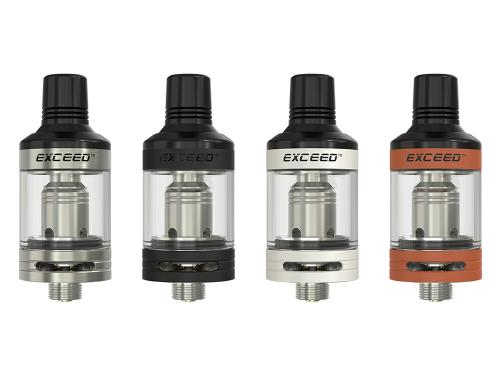 InnoCigs Exceed D19 Clearomizer Set alle Farben