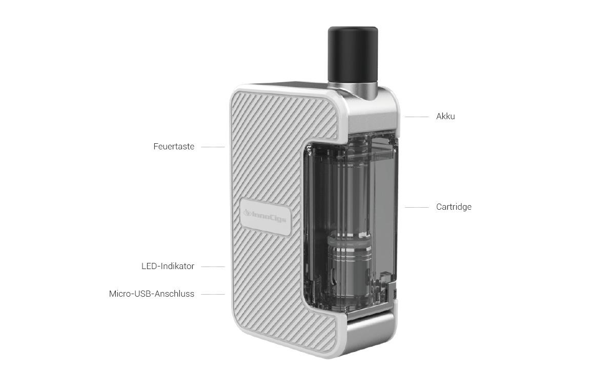InnoCigs Exceed Grip E-Zigaretten Set detail
