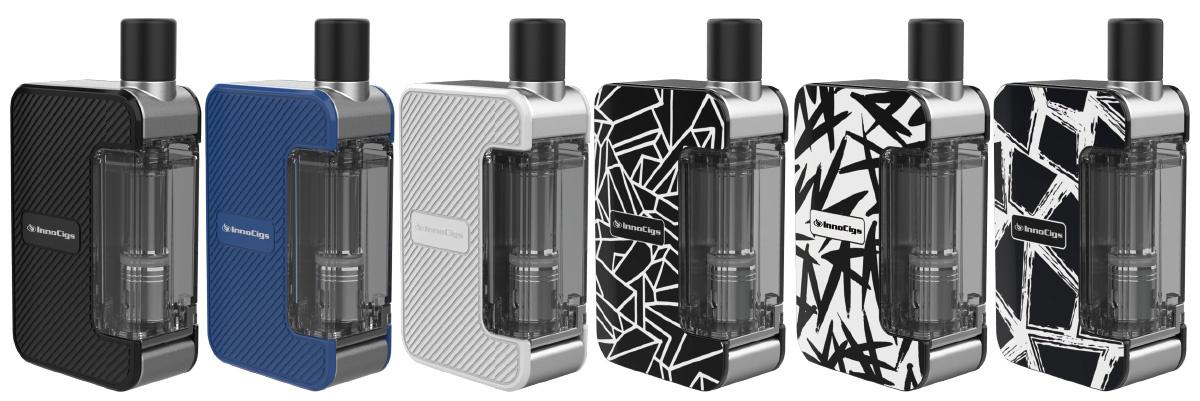 InnoCigs Exceed Grip E-Zigaretten Set alle Farben
