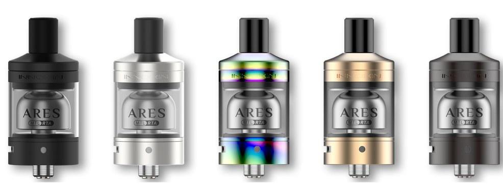 Innokin Ares RTA Clearomizer Set alle Farben