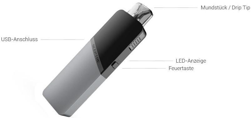 Die Innokin Sceptre E-Zigarette im Detail