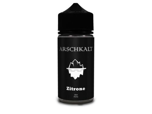 Arschkalt Longfill Flasche Zitronne