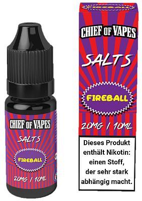 Chief of Vapes - Fireball - Nikotinsalz Liquid