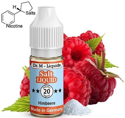 Dr. M - Himbeere - Nikotinsalz Liquid