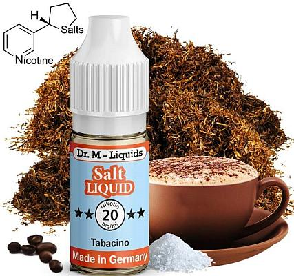 Dr. M - Tabacino - Nikotinsalz Liquid