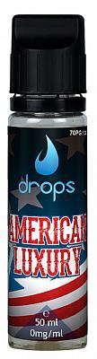 Drops - American Luxury 50ml 0mg/ml