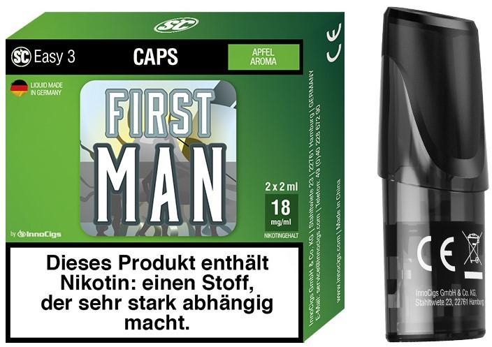 Easy 3 First Man Packung und Cap
