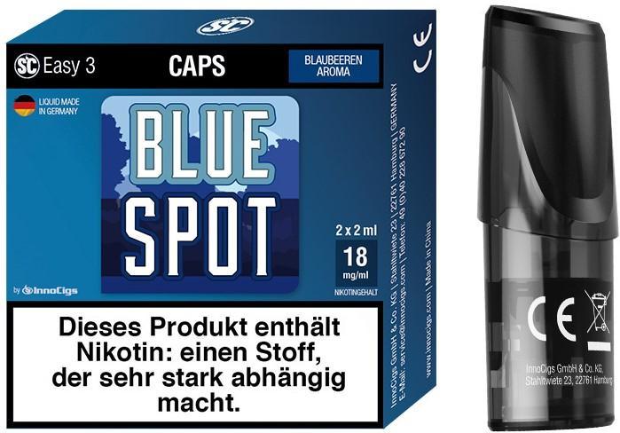 Easy 3 Blue Spot Packung und Cap