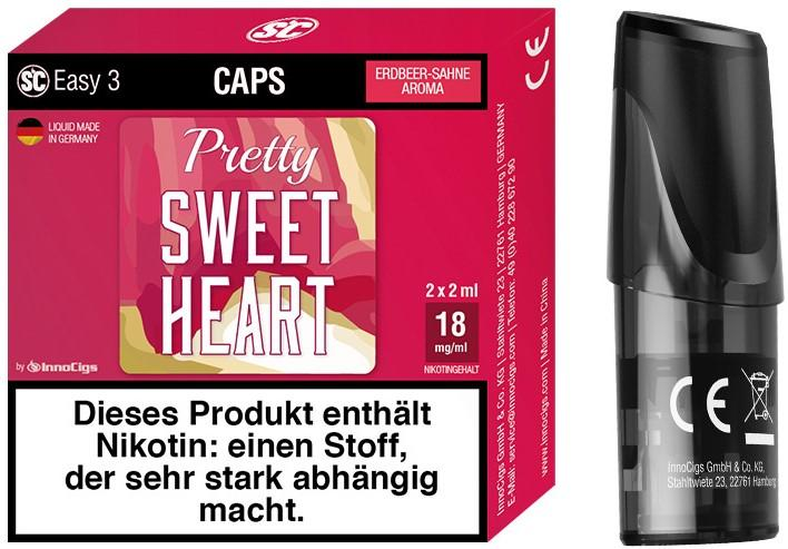 Easy 3 Pretty Sweetheart Packung und Cap