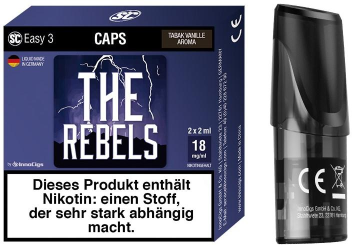 Easy 3 The Rebels Packung und Cap