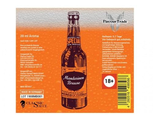 Flavour Trade Longfill Flasche Mandarinenbrause