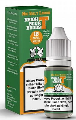 GangGang - Neightbour Hoods T - Nikotinsalz Liquid 18mg/ml