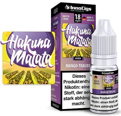 InnoCigs - Hakuna Matata Traube Aroma