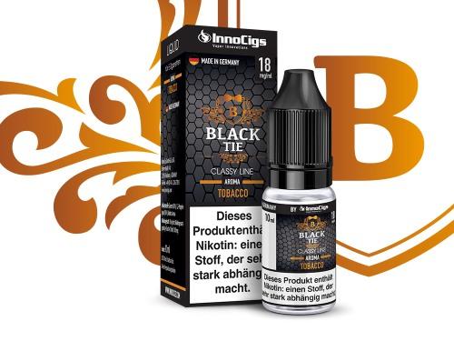 Black Tie Tabak Aroma - Liquid für E-Zigaretten 0 mg/ml