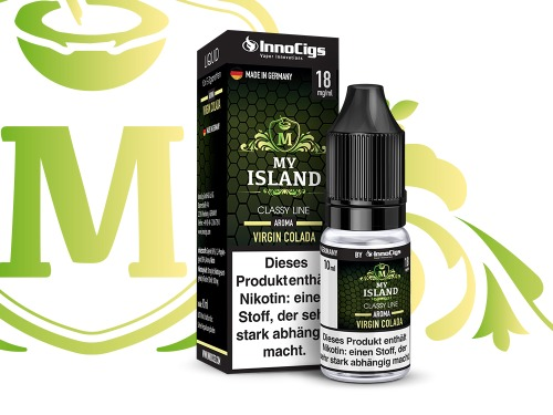 My Island Virgin Colada Aroma - Liquid für E-Zigaretten 3 mg/ml