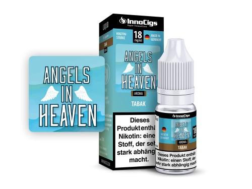 Angels in Heaven Tabak Aroma - Liquid für E-Zigaretten 0 mg/ml