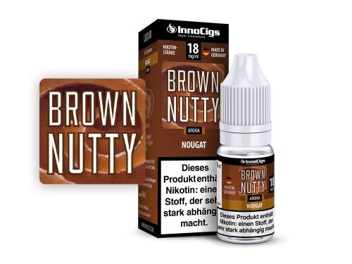 Brown Nutty Nougat Aroma - Liquid für E-Zigaretten 0 mg/ml