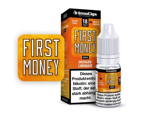 First Money Orangenlimonade Aroma - Liquid für E-Zigaretten 0 mg/ml