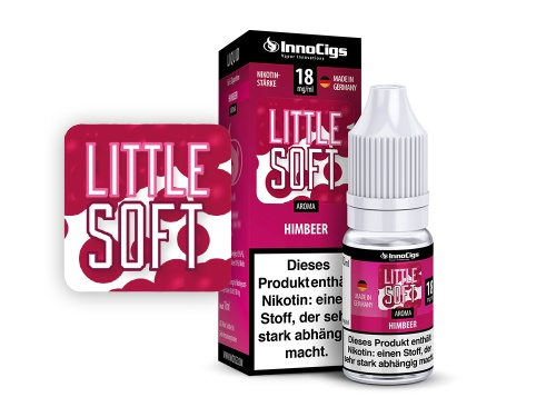 Little Soft Himbeer Aroma - Liquid für E-Zigaretten 3 mg/ml