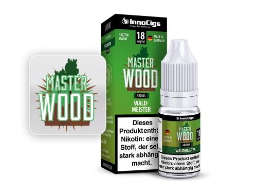 Master Wood Waldmeister Aroma - Liquid für E-Zigaretten 3 mg/ml