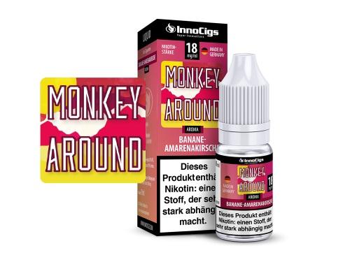 Monkey Around Bananen-Amarenakirsche Aroma - Liquid für E-Zigaretten 9 mg/ml