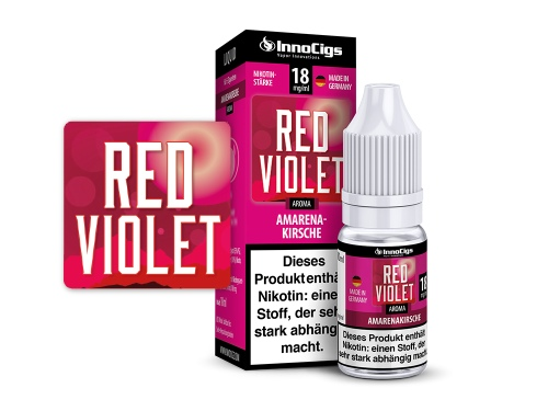Red Violet Amarenakirsche Aroma - Liquid für E-Zigaretten 3 mg/ml