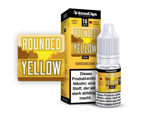 Rounded Yellow Honigmelonen Aroma - Liquid für E-Zigaretten 3 mg/ml