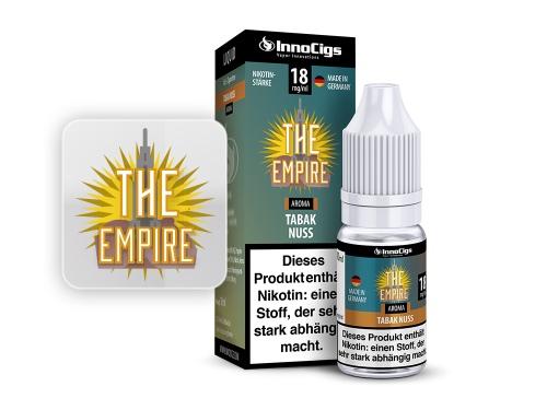 The Empire Tabak Nuss Aroma - Liquid für E-Zigaretten 0 mg/ml